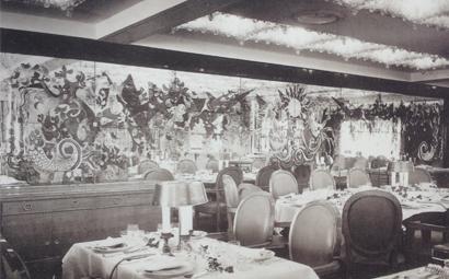 Arbus - 1951 - Provence - Salle à manger-0