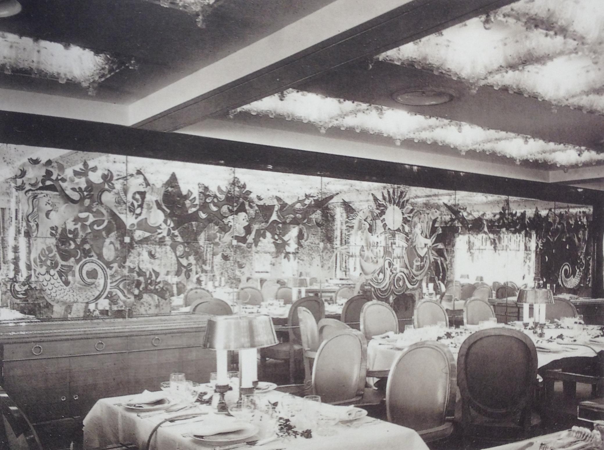 Arbus - 1951 - Provence - Salle à manger